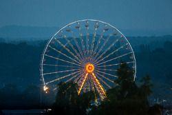 Das Riesenrad in Le Mans in den frühen Morgenstunden