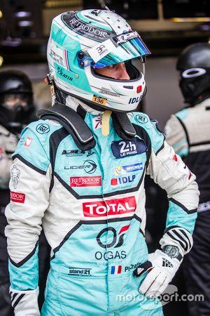 #23 Panis Barthez Competition, Ligier JS P2 Nissan: Paul-Loup Chatin
