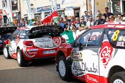 Stéphane Lefebvre, Gabin Moreau, Citroën DS3 WRC, Abu Dhabi Total World Rally Team and Craig Breen,