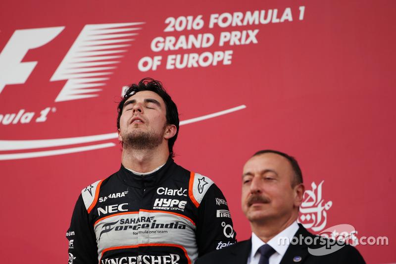 Séptimo podio, GP de Europa 2016
