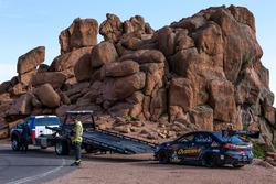 Problemas para el #72 Mitsubishi Evo X: Derek Boyd