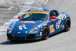 #7 Rebel Rock Racing Porsche Cayman: Tyler Stone, Bryan Leonard