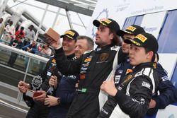 Podio Gara 1 Super GT Cup-GT Cup