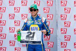Chase Elliott, Hendrick Motorsports Chevrolet pole winner