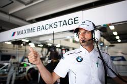 Engineer of Maxime Martin, BMW Team RBM, BMW M4 DTM