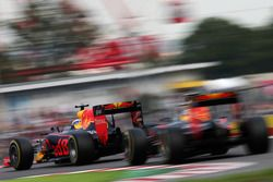 Daniel Ricciardo en Max Verstappen, Red Bull Racing RB12