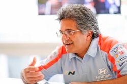 Michel Nandan, Team principal Hyundai Motorsport