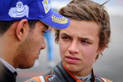 Lando Norris, Josef Kaufmann Racing and Jehan Daruvala, Josef Kaufmann Racing