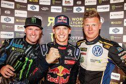 Победитель - Тимми Хансен, Team Peugeot Hansen, второе место - Андреас Баккеруд, Hoonigan Racing Div