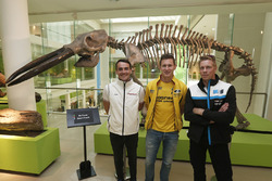 Rijders in het Natural History Museum