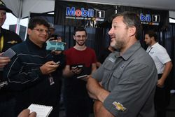 Tony Stewart, Stewart-Haas Racing, Chevrolet, bei einem iRacing-Event