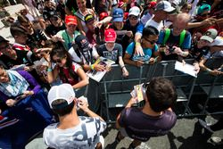 Pierre Gasly, PREMA Racing et Mitch Evans, Pertamina Campos Racing