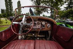 Classic Grand Tour: Lorraine-Dietrich ganador de las 24 horas de Le Mans 1926, cabina