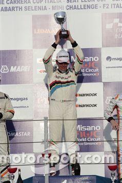 Massimo Arduini, 2T Course & Reglage sul podio di Gara 1