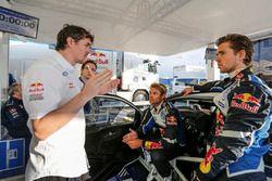 Richard Browne und Andreas Mikkelsen, Anders Jäger, Volkswagen Polo WRC, Volkswagen Motorsport