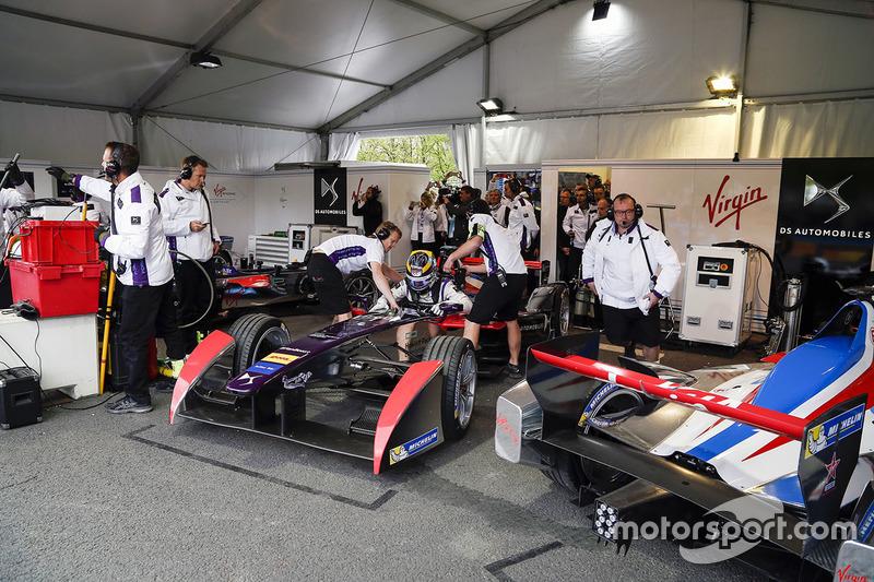 Jean Eric Vergne Ds Virgin Racing Pit Stop