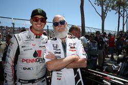 Graham Rahal, Rahal Letterman Lanigan Racing Honda, David Letterman