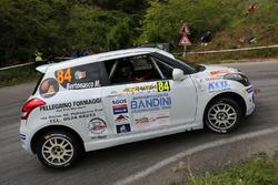 Simone Rivia, Marina Bertonasco, Suzuki Swift R R1B #84