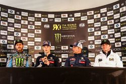 Ken Block, Hoonigan Racing Division Ford, Timmy Hansen, Team Peugeot Hansen, Sébastien Loeb, Team Pe