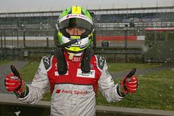 Lucas di Grassi, Audi Sport Team Joest, dans la neige
