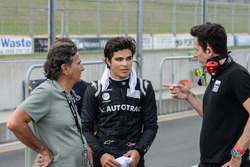 Pedro Piquet and Nelson Piquet