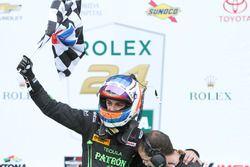 Le vainqueur Pipo Derani, ESM Racing fête sa victoire