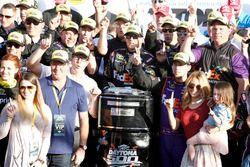 Sieger: Denny Hamlin, Joe Gibbs Racing Toyota