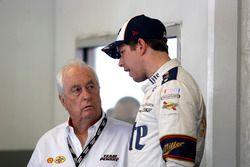Roger Penske, Owner Team Penske and Brad Keselowski, Team Penske Ford