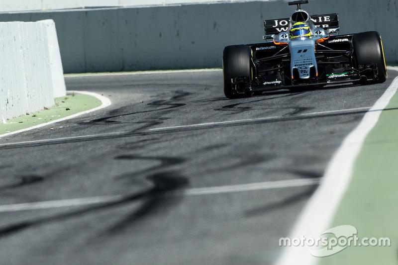 Lundi : Sergio Perez, Force India