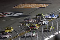 Incidente: Noah Gragson, Kyle Busch Motorsports Toyota; John Hunter Nemechek, SWM-NEMCO Motorsports