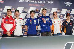 Jorge Lorenzo, Ducati Team, Cal Crutchlow, Team LCR Honda, Maverick Viñales, Yamaha Factory Racing,