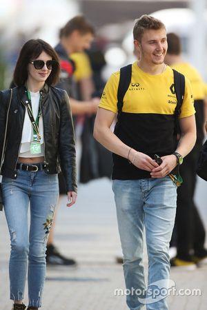 Sergey Sirortkin, piloto de pruebas de Renault Sport F1 Team