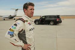 Carl Edwards e la Toyota Land Speed Cruiser