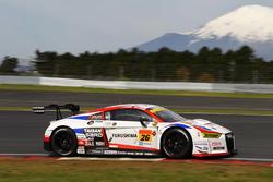 #26 Team Taisan Sard Audi R8 LMS: Shinnosuke Yamada, Jake Parsons