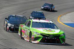 Gray Gaulding, BK Racing Toyota, Cole Whitt, TriStar Motorsports Chevrolet