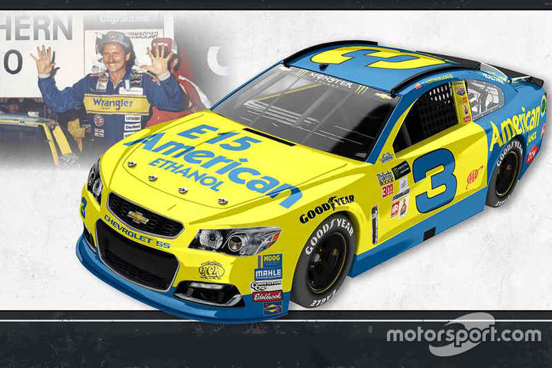 Throwback-Design: Austin Dillon, Richard Childress Racing Chevrolet