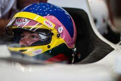Jacques Villeneuve bestuurt de tweezitter