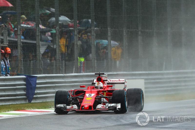 6: Sebastian Vettel, Ferrari SF70H