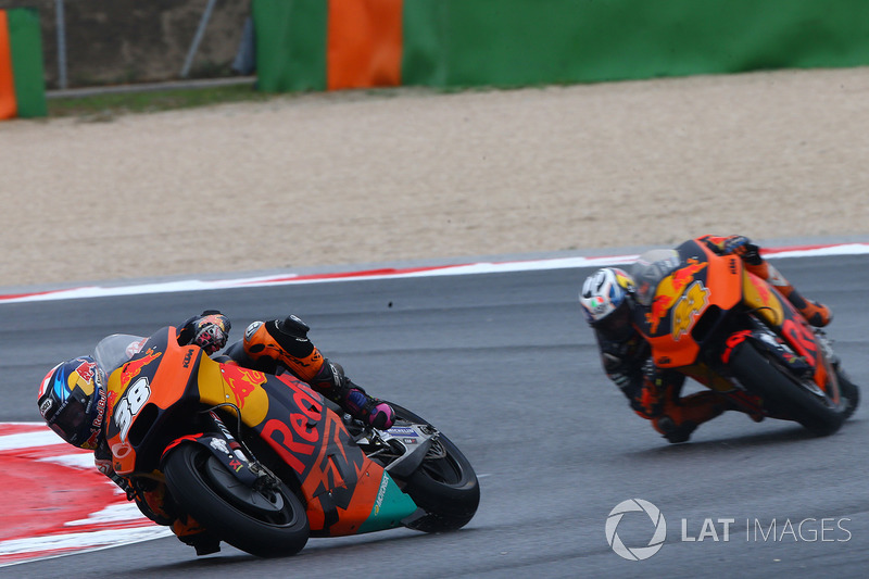 Red Bull KTM Factory Racing mantiene a su pareja de pilotos