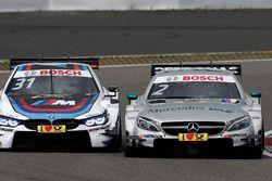 Tom Blomqvist, BMW Team RBM, BMW M4 DTM, Gary Paffett, Mercedes-AMG Team HWA, Mercedes-AMG C63 DTM