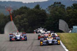 Takuma Sato, Andretti Autosport Honda, Alexander Rossi, Curb Herta - Andretti Autosport Honda, Carlo