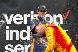 1. Alexander Rossi, Herta - Andretti Autosport Honda; 3. Ryan Hunter-Reay, Andretti Autosport Honda