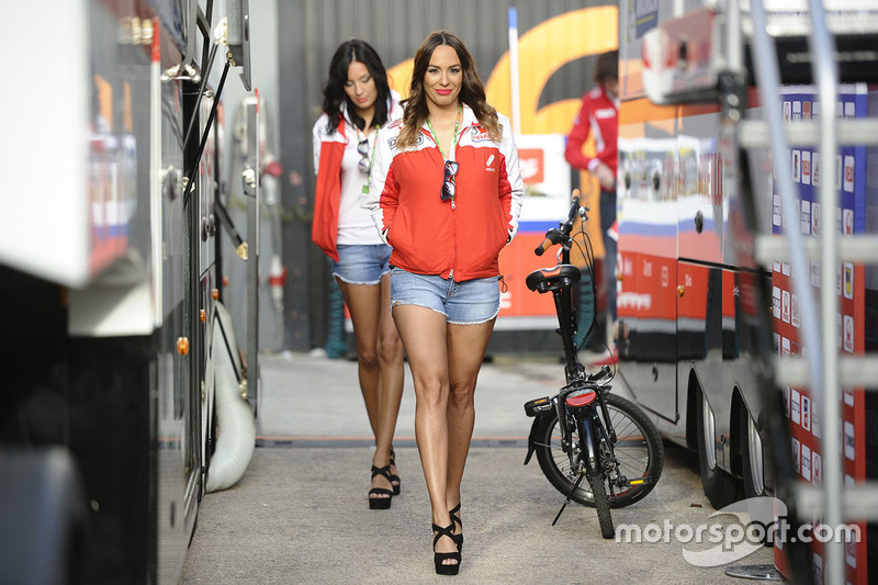 Grid girls Octo Pramac Racing