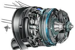 Mercedes W07, nuova soluzione per i dischi freni anteriori