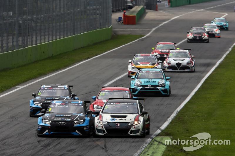 Stefano Comini, Comtoyou Racing, Audi RS3 LMS, Roberto Colciago, M1RA, Honda Civic TCR