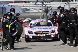 Піт-стоп: Лукас Ауер Mercedes-AMG Team HWA, Mercedes-AMG C63 DTM