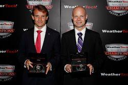 Antonio Garcia en Jan Magnussen met Tudor Watches