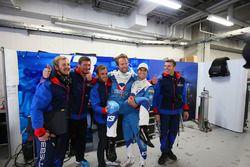 LMP2 polesitters Nelson Piquet Jr., David Heinemeier Hansson, Vaillante Rebellion