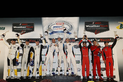 GTLM podium: winners Bill Auberlen, Alexander Sims, Kuno Wittmer, BMW Team RLL, second place Antonio