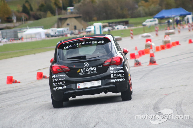 Thierry Kilchenmann, Opel Corsa OPC, Belwag Racing Team, Course 1